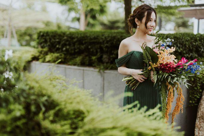 Tropical Wedding Inspirations by TangYong Hair & Makeup - 046