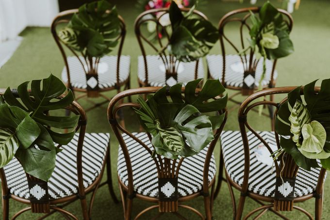 Tropical Wedding Inspirations by Le Meridien Singapore, Sentosa - 009