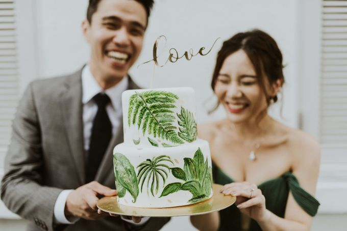 Tropical Wedding Inspirations by Le Meridien Singapore, Sentosa - 047
