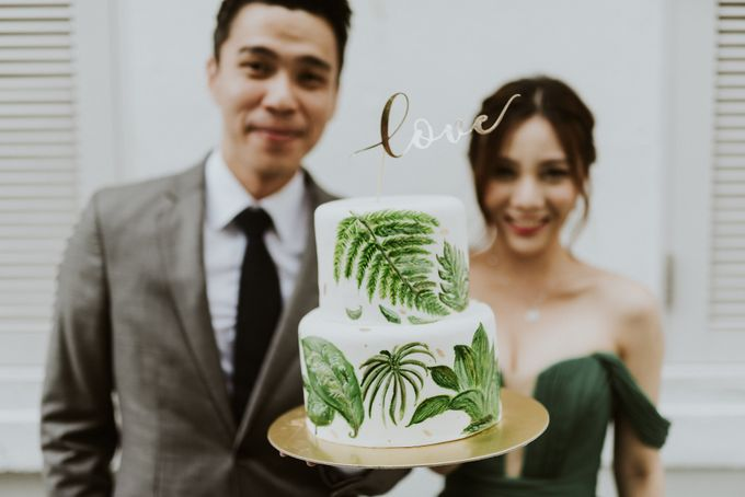Tropical Wedding Inspirations by Le Meridien Singapore, Sentosa - 048