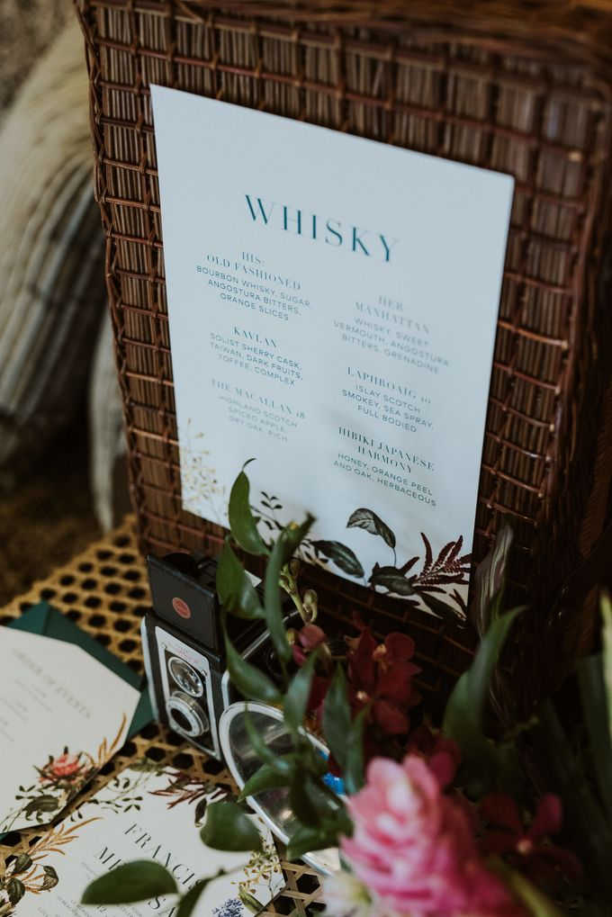 Tropical Wedding Inspirations by PapyPress - 010