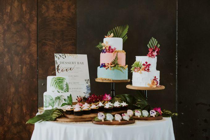 Tropical Wedding Inspirations by TangYong Hair & Makeup - 011