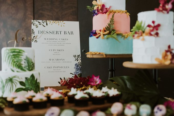 Tropical Wedding Inspirations by Le Meridien Singapore, Sentosa - 013