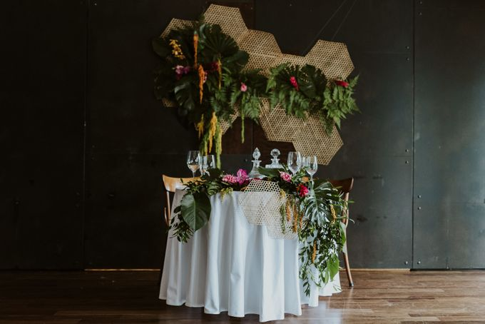 Tropical Wedding Inspirations by TangYong Hair & Makeup - 015