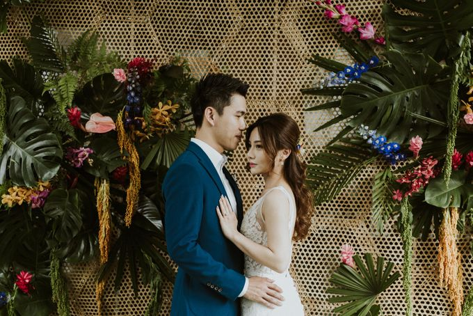 Tropical Wedding Inspirations by Le Meridien Singapore, Sentosa - 016