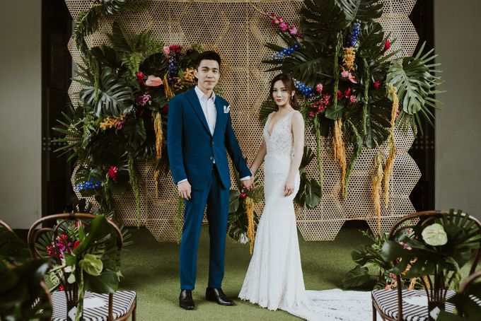 Tropical Wedding Inspirations by Le Meridien Singapore, Sentosa - 018