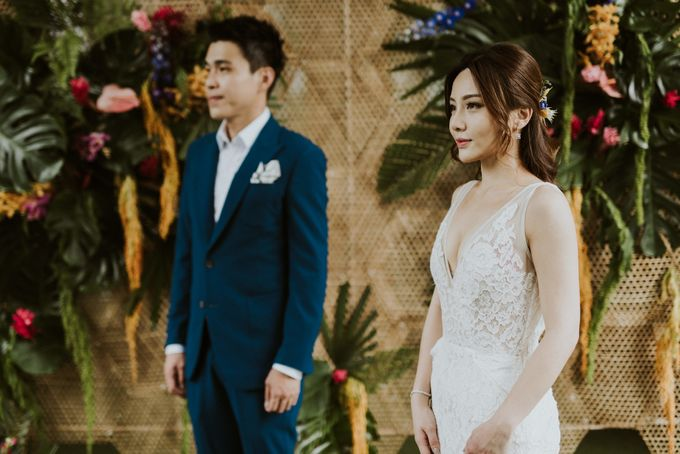 Tropical Wedding Inspirations by Le Meridien Singapore, Sentosa - 019