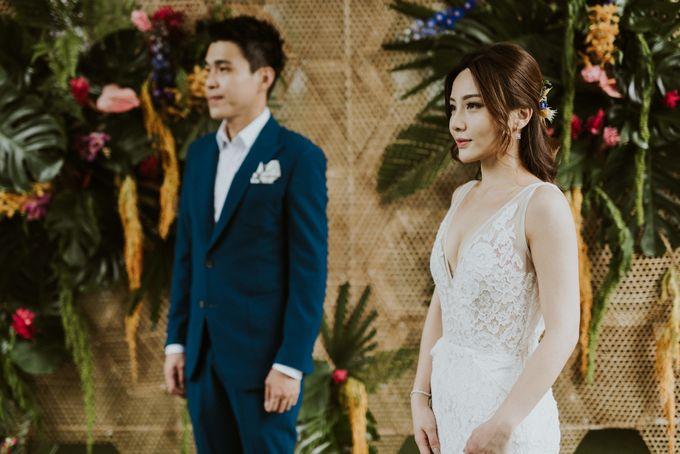 Tropical Wedding Inspirations by TangYong Hair & Makeup - 019