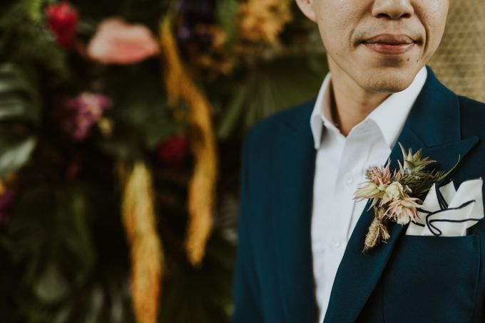 Tropical Wedding Inspirations by Le Meridien Singapore, Sentosa - 002