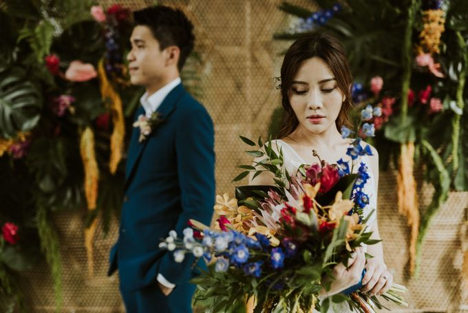 Tropical Wedding Inspirations by Le Meridien Singapore, Sentosa - 020