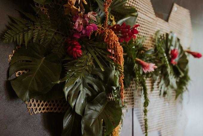 Tropical Wedding Inspirations by TangYong Hair & Makeup - 002