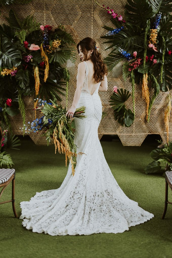 Tropical Wedding Inspirations by Le Meridien Singapore, Sentosa - 021