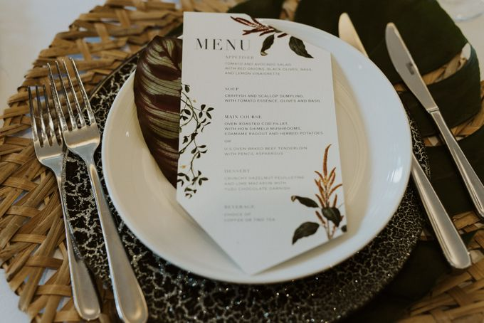 Tropical Wedding Inspirations by Le Meridien Singapore, Sentosa - 003