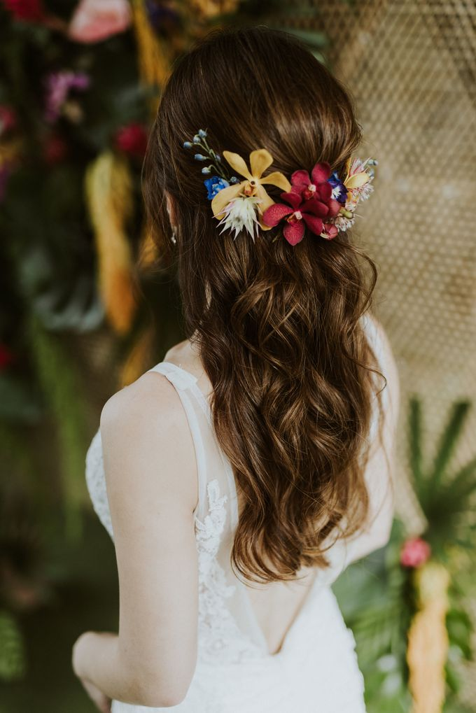 Tropical Wedding Inspiration by Le Meridien Singapore, Sentosa - 006