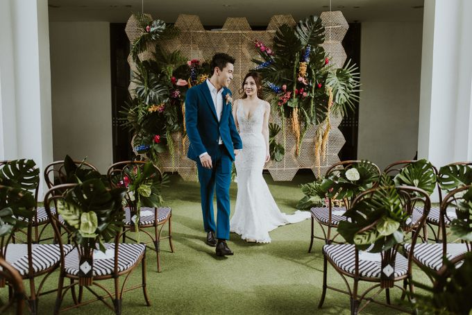 Tropical Wedding Inspirations by TangYong Hair & Makeup - 022