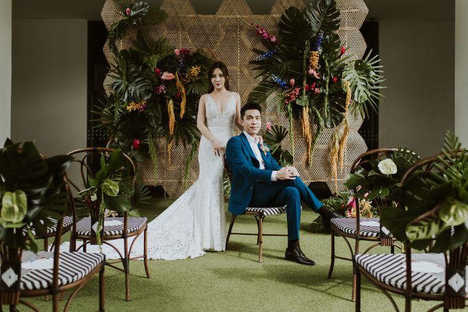 Tropical Wedding Inspirations by TangYong Hair & Makeup - 023