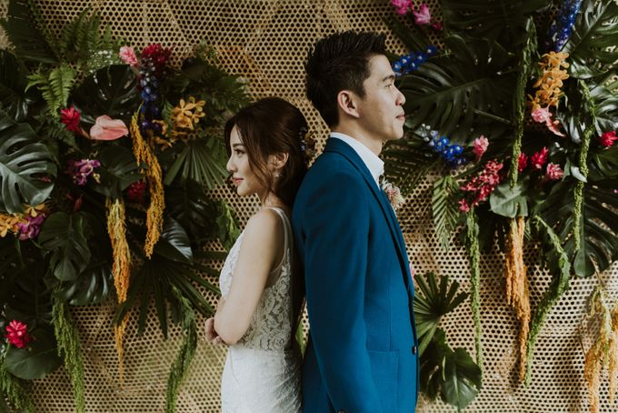 Tropical Wedding Inspirations by Le Meridien Singapore, Sentosa - 024