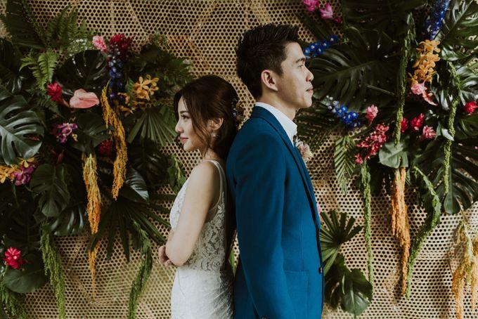 Tropical Wedding Inspirations by TangYong Hair & Makeup - 024