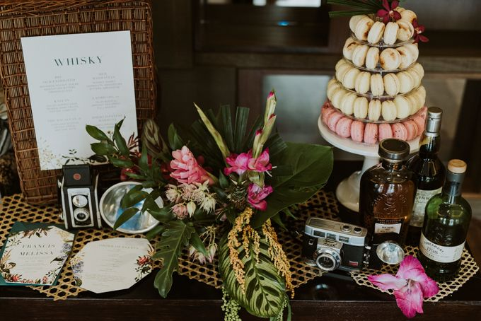 Tropical Wedding Inspirations by Le Meridien Singapore, Sentosa - 004