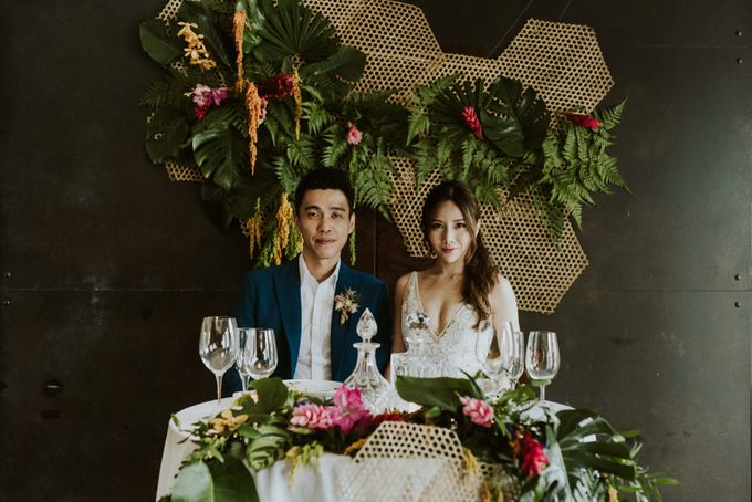 Tropical Wedding Inspirations by Le Meridien Singapore, Sentosa - 025