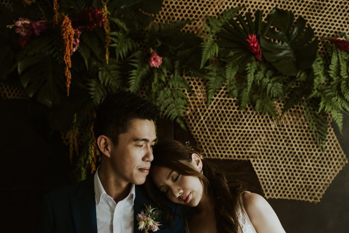 Tropical Wedding Inspiration by Le Meridien Singapore, Sentosa - 010