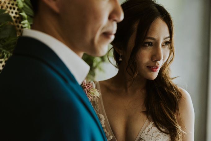 Tropical Wedding Inspirations by Le Meridien Singapore, Sentosa - 007