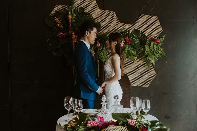 Tropical Wedding Inspirations by Le Meridien Singapore, Sentosa - 026