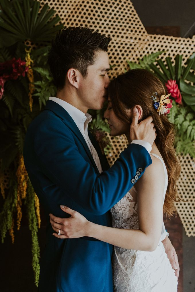 Tropical Wedding Inspirations by Le Meridien Singapore, Sentosa - 008