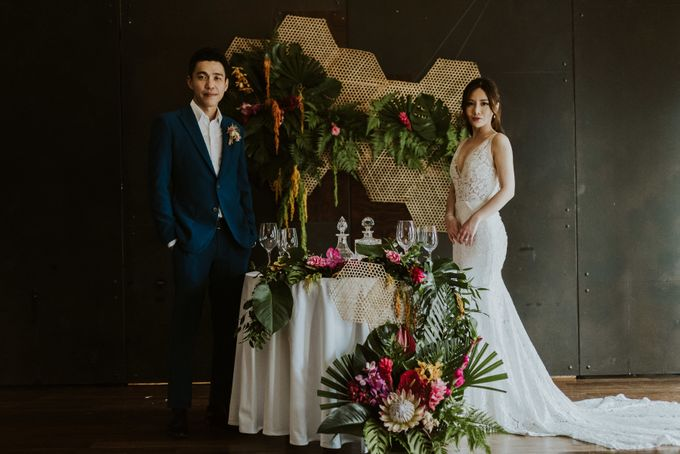 Tropical Wedding Inspirations by Le Meridien Singapore, Sentosa - 027