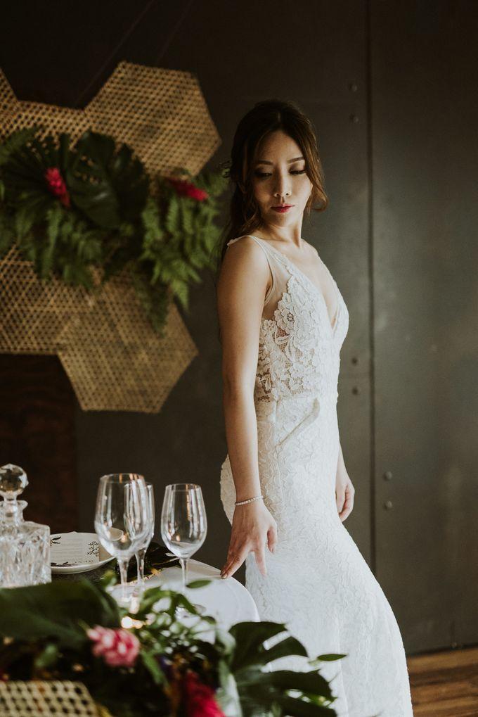 Tropical Wedding Inspirations by TangYong Hair & Makeup - 029