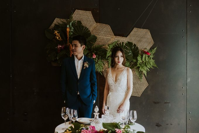 Tropical Wedding Inspirations by Le Meridien Singapore, Sentosa - 030