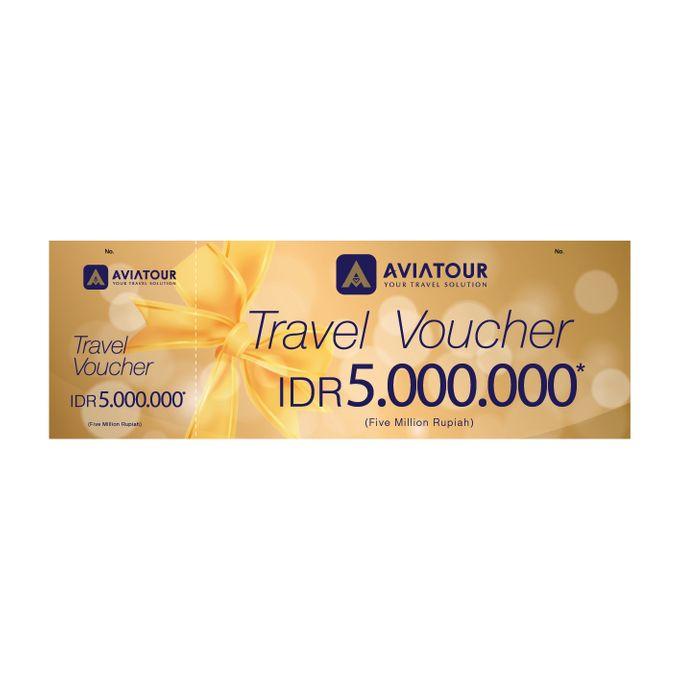 VOUCHER TRAVEL AVIA TOUR - BRIDESTORY IDR 5000000 by Aviatour - 001