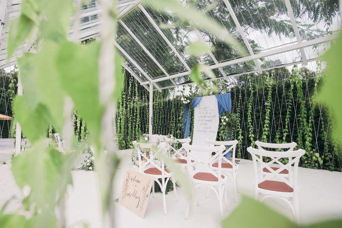 Dusty Blue Winter Theme Wedding by Le Conte Decor - 010