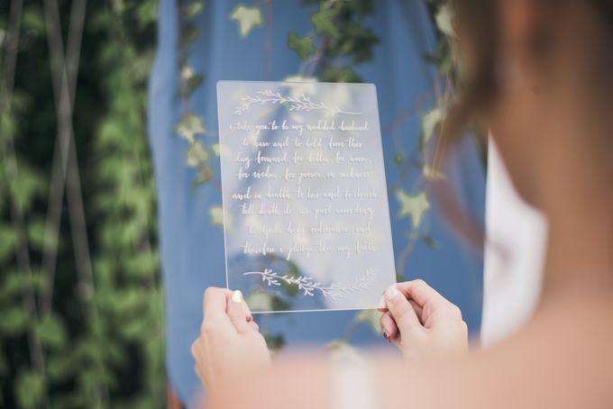 Dusty Blue Winter Theme Wedding by Le Conte Decor - 021
