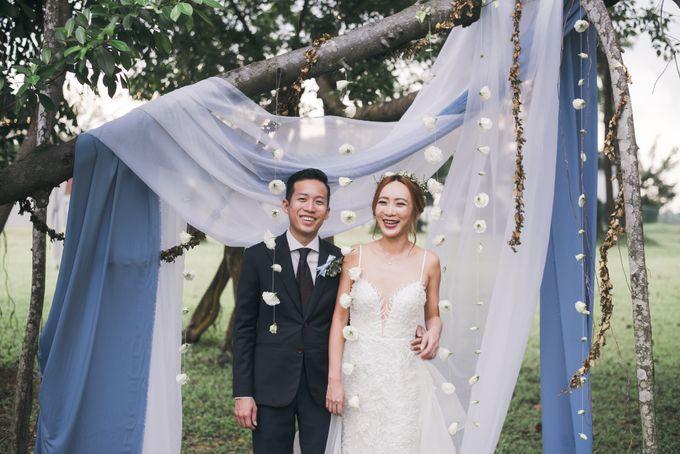 Dusty Blue Winter Theme Wedding by Le Conte Decor - 025