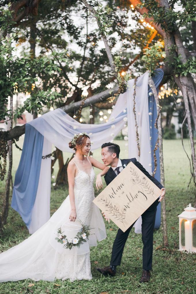 Dusty Blue Winter Theme Wedding by Le Conte Decor - 031