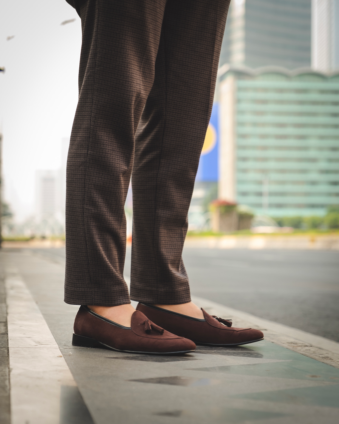 Belgian Loafers with tassels by BRILLO.FOOTWEAR - 001