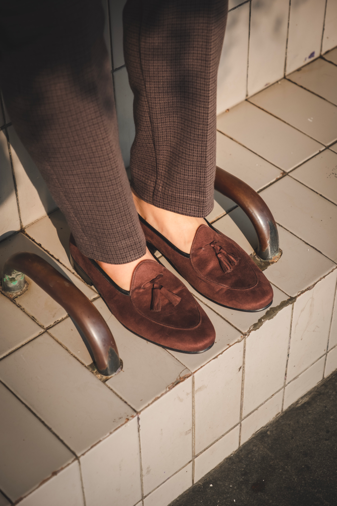 Belgian Loafers with tassels by BRILLO.FOOTWEAR - 005