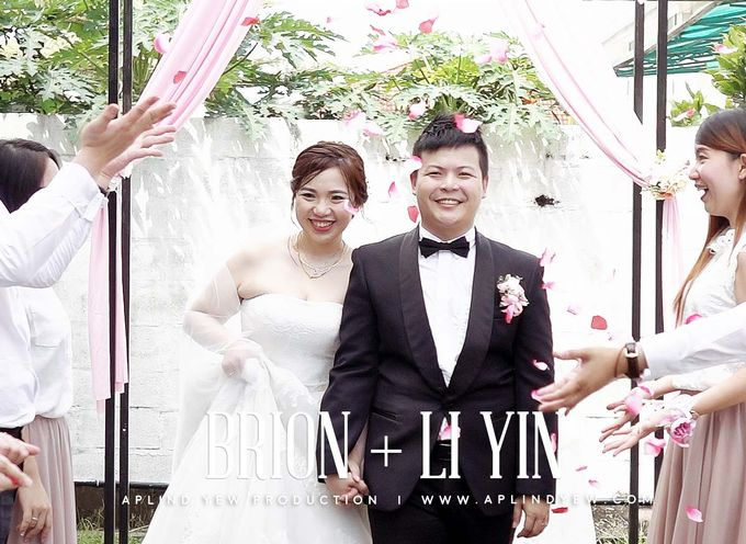 Brion & Li Yin - Garden Wedding Actual Day Cinematic Video by Aplind Yew Production - Wedding Cinematography & Photography - 001