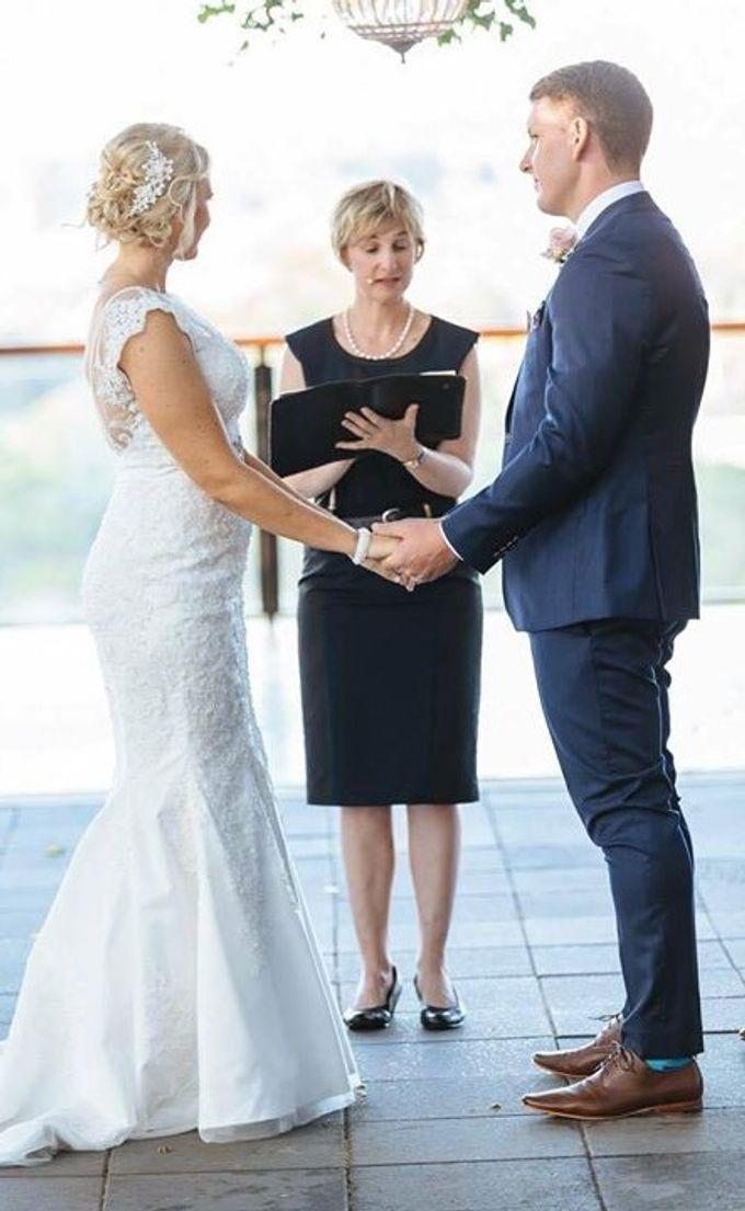 Nick & Jo's wedding at Sirromet Wines by Brisbane Wedding Celebrant Elizabeth Wilkie - 002