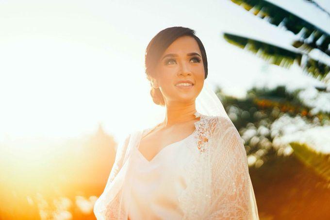 THE WEDDING OF ANDRES & REGINA - Morning Bridal Beauty Shoots by Meliana Make Up Artist - 008