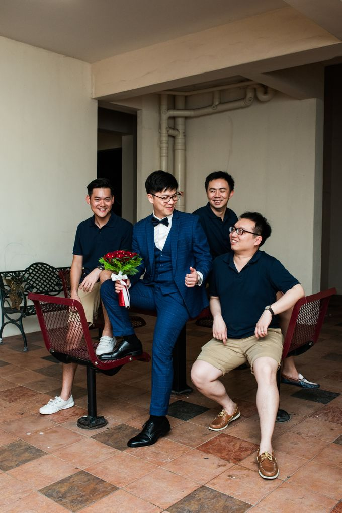 Wedding Day of  JT and KW Swissotel Merchant Court Singapore by oolphoto - 007