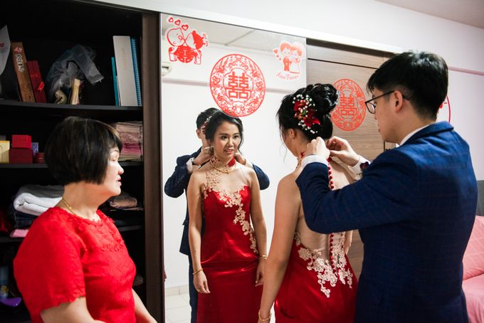 Wedding Day of  JT and KW Swissotel Merchant Court Singapore by oolphoto - 018