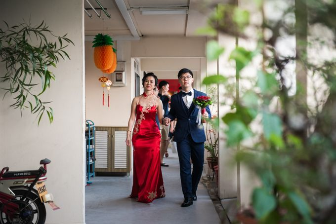 Wedding Day of  JT and KW Swissotel Merchant Court Singapore by oolphoto - 014