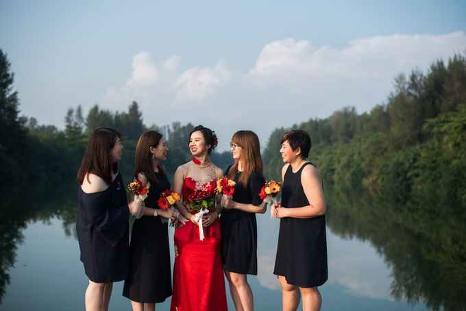 Wedding Day of  JT and KW Swissotel Merchant Court Singapore by oolphoto - 021