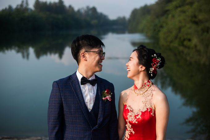 Wedding Day of  JT and KW Swissotel Merchant Court Singapore by oolphoto - 025