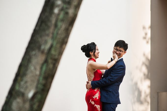 Wedding Day of  JT and KW Swissotel Merchant Court Singapore by oolphoto - 036