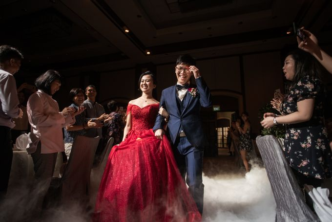 Wedding Day of  JT and KW Swissotel Merchant Court Singapore by oolphoto - 040