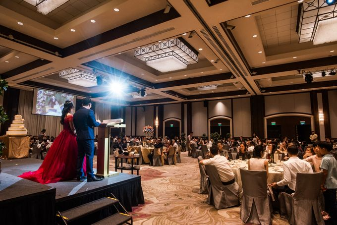 Wedding Day of  JT and KW Swissotel Merchant Court Singapore by oolphoto - 050