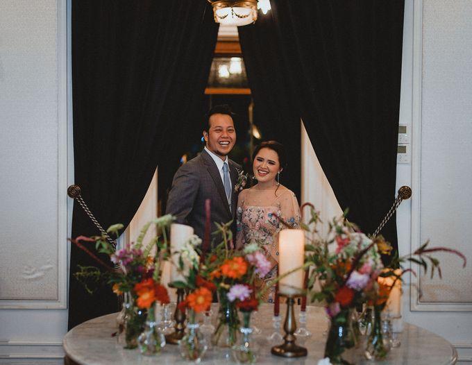 Cempaka Dimaz Wedding by WIT Wear It Too - 001